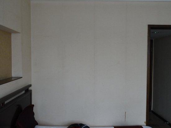 Guan Zhong Hotel Xi'an Nanxin Street: Wand im Zimmer