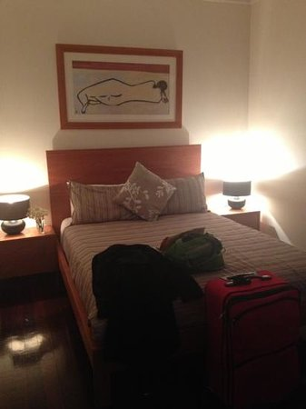 Lochiel Luxury Accommodation: Bedroom in 4 bedroomed cottage