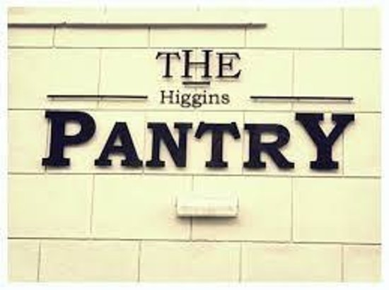 The Higgins Pantry: The Entrance