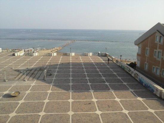هوتل سكاكيابينسيري: veduta dalla terrazza della camera