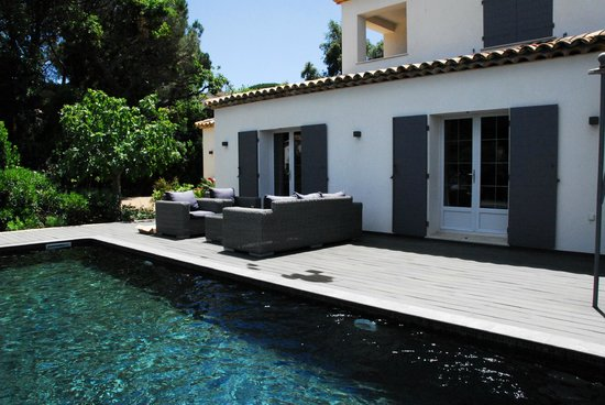 Villa Casabianca : Photo prise en juin 2013