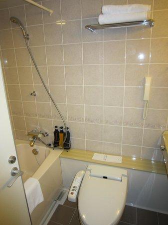 Quintessa Hotel Sasebo: バスルーム・トイレ