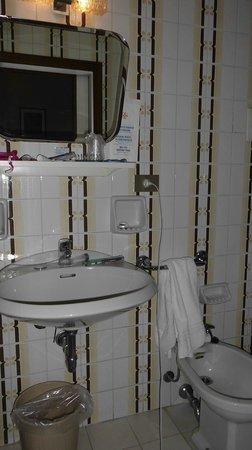 Hotel San Fantin: il piccolissimo bagno