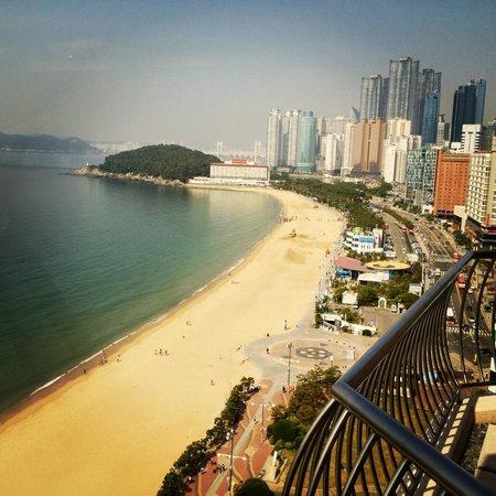 Haeundae Beach Picture Of Paradise Hotel Busan Tripadvisor