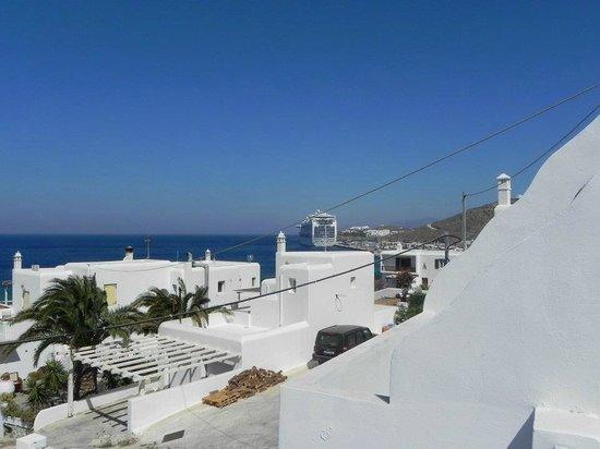 Akti Irini Hotel : buques desde la habitación