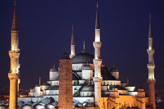 Hotel Sultan House: Zimmeraussicht auf Blaue Moschee