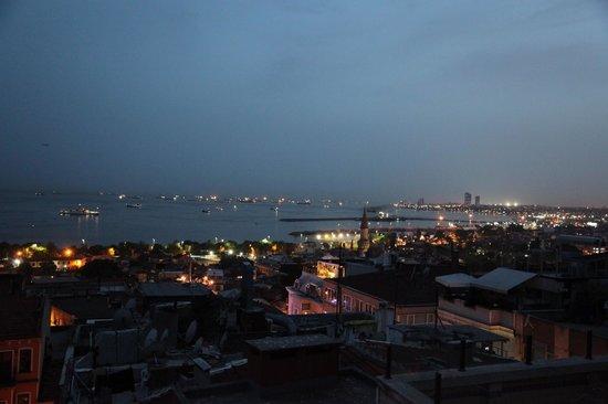 Hotel Sultan House: Aussicht von Dachterrasse
