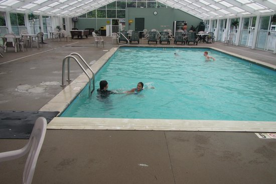 Cherokee / Great Smokies KOA: Indoor pool