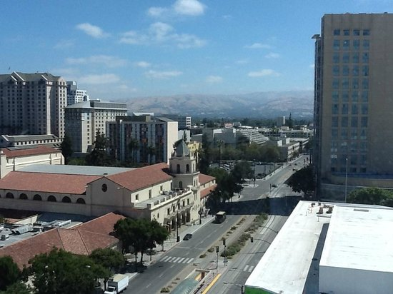 Hilton San Jose : View of San Jose from room 1123