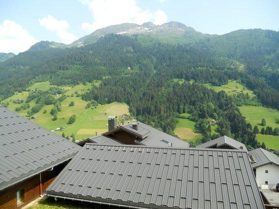 Les Chalets de Celine: vue du balcon sud