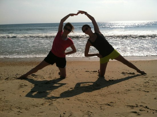 Aloha Yoga Susan : Aloha yoga, my daughter and I