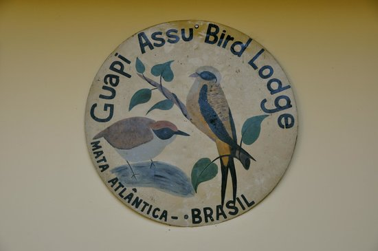 REGUA - Reserva Ecologica de Guapiacu: Logo of the lodge which specializes in bird watching