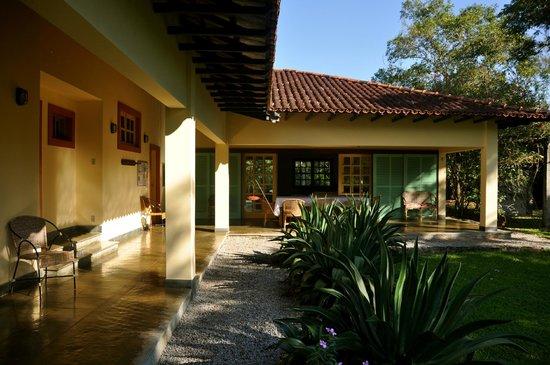 REGUA - Reserva Ecologica de Guapiacu: Main house of the lodge