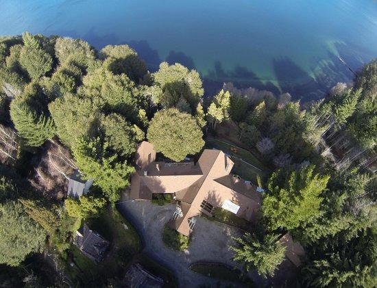 Peninsula Petit Hotel: Vista aerea
