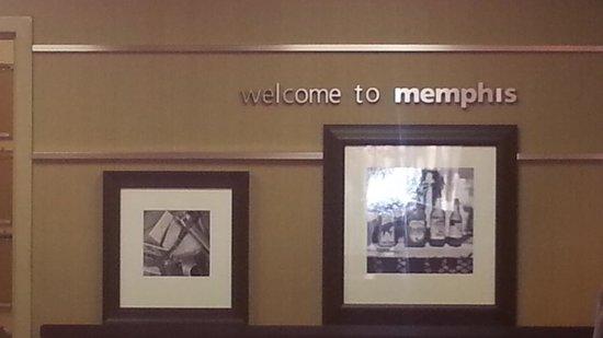Hampton Inn Memphis-Poplar: Hampton Inn welcome