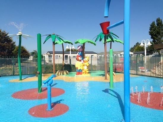 Splash Zone Picture Of Seashore Holiday Park Haven
