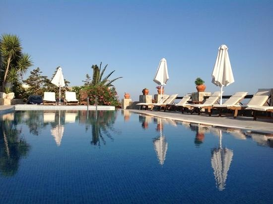 Paros Palace: before breakfast