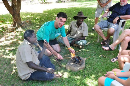 Top Didj Cultural Experience: fire making