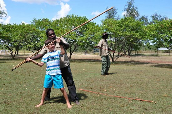 Top Didj Cultural Experience: spear throwing