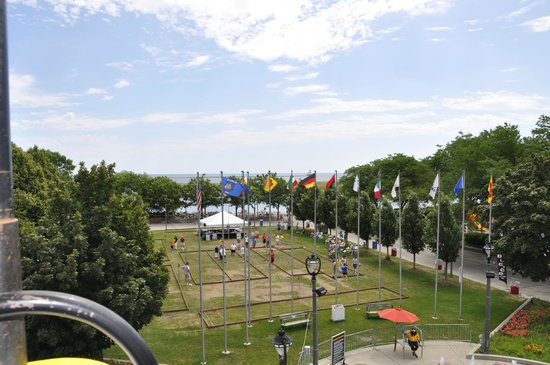 Henry Maier Festival Park : view from the sky glider