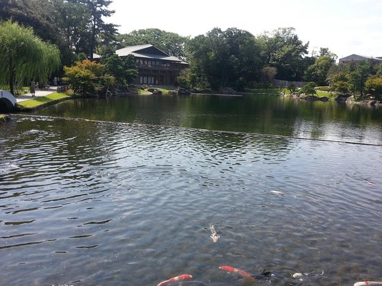 Tokugawa Art Museum : 美術館内撮影を遠慮して、こちらは併設の公園です