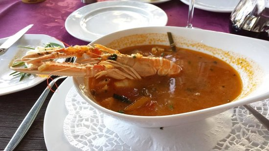 Hotel Alexander: Mate's Fantastic Fish Soup