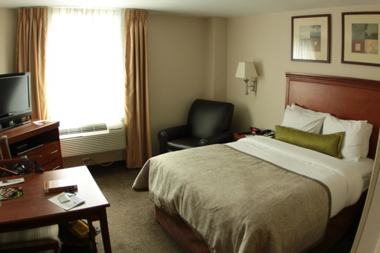 Candlewood Suites New York City Times Square: Schlafzimmer