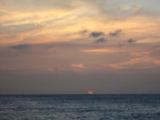 Hotel Copacabana: il tramonto dal visto dal Copacabana