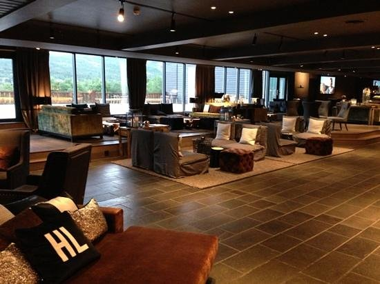 Highland Lodge: Lobby area