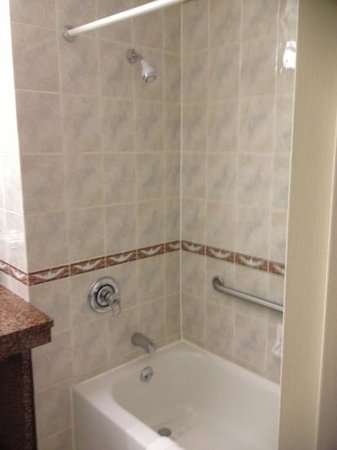 Chelsea Savoy Hotel: nice clean shower/tub