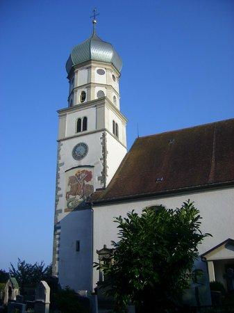 Haus des Gastes: Kirche in Wasserburg