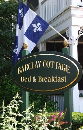 Barclay Cottage Bed and Breakfast : Le Québec au Barclay, juillet 2013