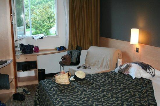 Best Western Corsica Hotels Bastia Centre: camera primo piano, tripla-poltrona letto
