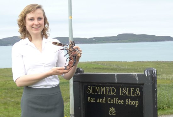 The Summer Isles Hotel and Restaurant: Local Welcome