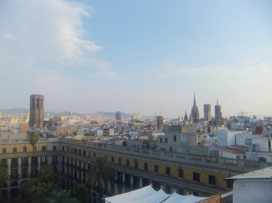 DestinationBCN Apartment Suites: Views from terrace