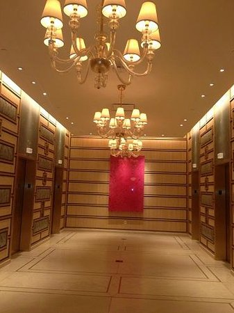 The Spa at Encore: Elevator to Spa Area