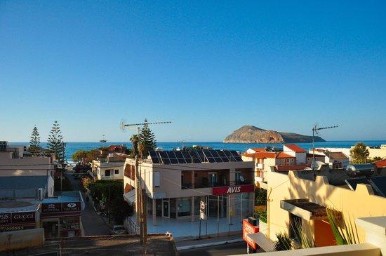 Frideriki Studios & Apartments: Nice sea view
