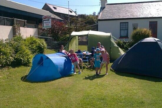 Corcreggan Mill: Camping at Corcreggan...