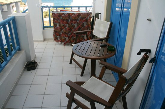 Romantica Hotel: Terrassen