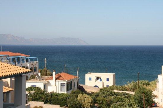 Romantica Hotel: Udsigt fra vores terrasse