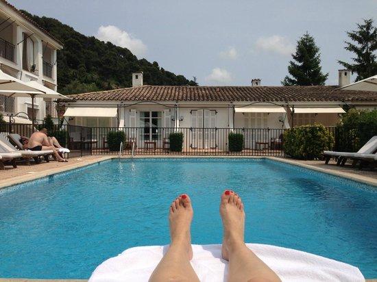 Hotel Les Vergers de Saint Paul : nice pool