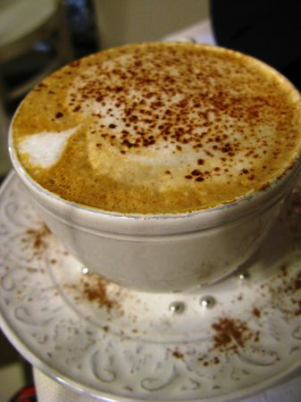 Locanda del Sole Luxury Suite Rome : Emiliano's Cappucino