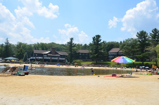 Split Rock Resort: Splitrock Lagoon