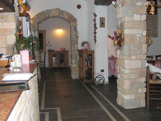 Civezzano, Italy: interno rist. LA CANOPA