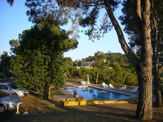 Bed and Breakfast Puig Gros: vista piscina