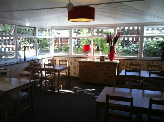 The Cross Inn : lovely dining area