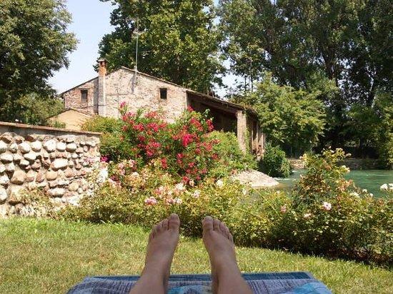 AgriRelais Villa Dei Mulini: relax in riva al fiume