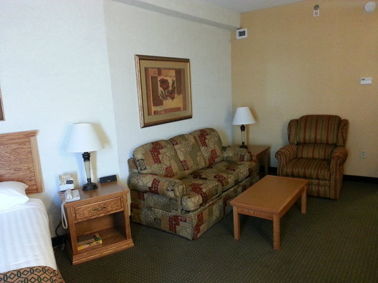 Drury Inn & Suites Amarillo: Sitting Area