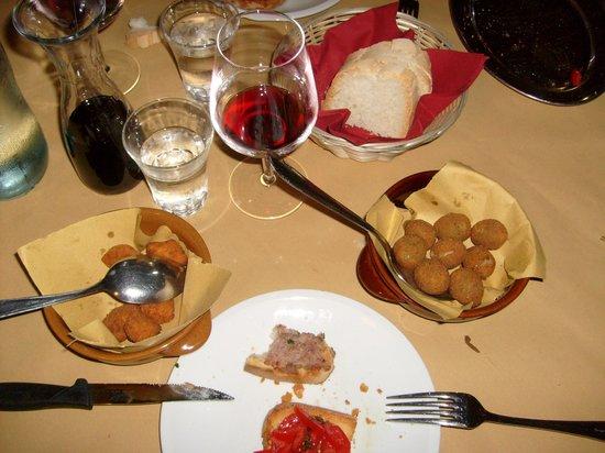 Osteria del Borgo: Antipasti