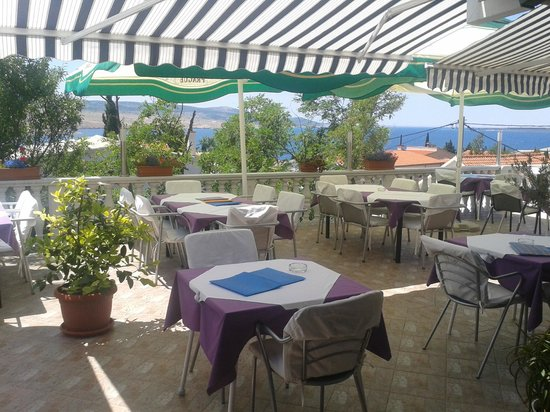 Jasenice, โครเอเชีย: terrace
